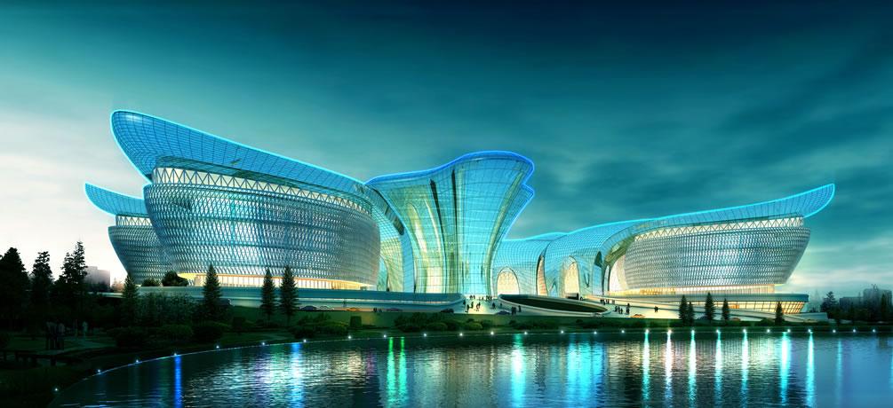 乌鲁木齐文化中心 - 长沙市规划设计院有限责任公司