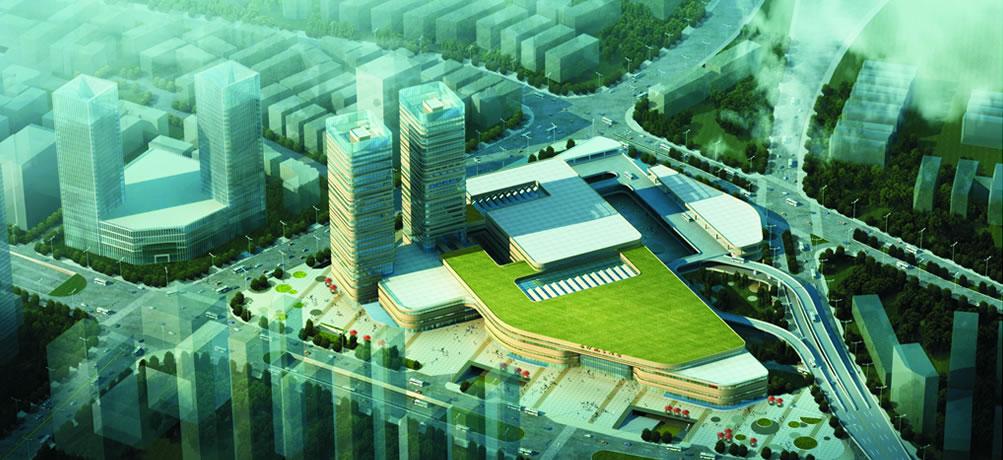 汽车南站综合交通枢纽 - 长沙市规划设计院有限责任