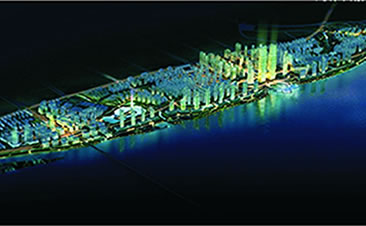 长沙大河西先导区滨江新城控制性详细规划