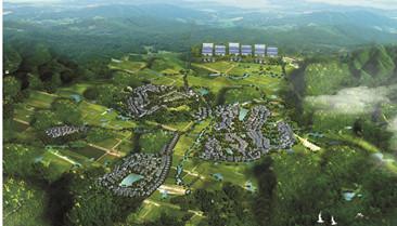 长沙县北山镇圣毅园现代农庄总体规划