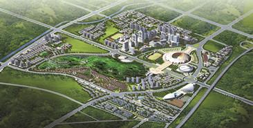 长沙体育新城规划
