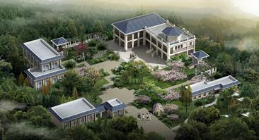 橘子洲风景区规划及建筑单体设计