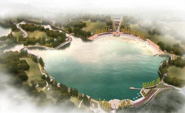 海绵城市-桐溪湖湖泊工程